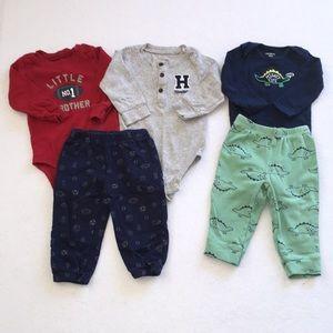 Baby Boys Carter's Bundle 9 Months